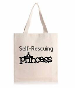 Self Rescuing Princess Tote Bag