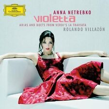 Anna Netrebko Violetta (2005, #4775937, & Rolando Villazón) [CD]