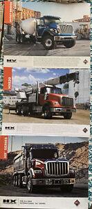 Lot/3 International Truck  Brochures/Sheets