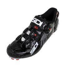 New Sidi MTB Mountain BIke Shoes Drako Carbon Black Men's Euro 44 Size US 10