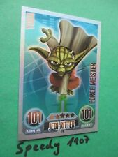 Force Attax Star Wars Serie 1 Force Meister Yoda Clone Wars 174 Extrem selten