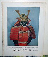 Metropolitan Museum of Art Bulletin May 1958