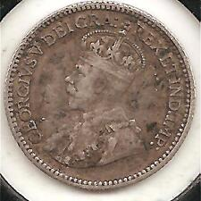 1912 VERY FINE Canadian Five Cents Silver #2