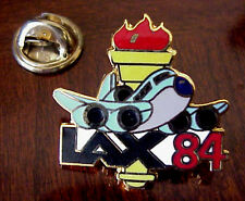 LAX 1984 OLYMPICS LOS ANGELES INTERNATIONAL AIRPORT ENAMEL TORCH PIN