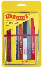 Flex-I-File 550 Flex-Set Complete Finishing Set Hobby Craft NEW