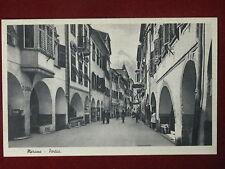 MERANO-Portici-no viaggiata,animata,anni 50#3232