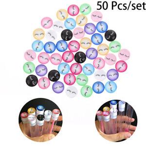 50Pcs Mixed Color Eyelashes Handmade Cabochons Dome Diy Jewelry Making SuppliRI