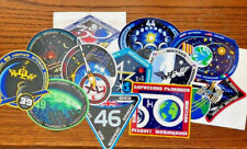 NASA ISS Mission Decal $5 ea- 37, 39, 40, 43, 44, 46, 48, 49, 50, 51, 52, OR 53