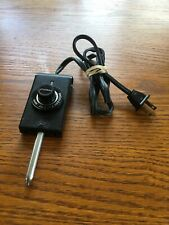 PRESTO AUTOMATIC ELECTRIC SKILLET HEAT CONTROL POWER CORD MODEL 0690001 WORKS