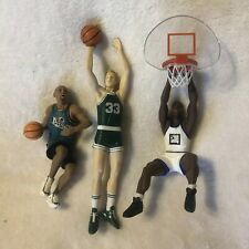 Hallmark CollectIble Nba Player Ornaments Lot Of 3 Grant Hill, Larry Byrd, Shaq