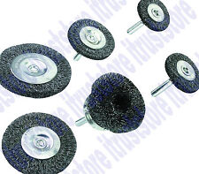 Steel Round Wire Cup Brush Wheel for Power Tool Drill 1/4