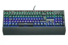 KM-Gaming K-GK2 mechanische Aluminium Gaming Tastatur mit Cherry MX RGB Switches