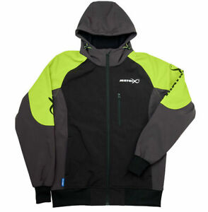 Matrix Soft Shell Fleece Jacket wind and water resistant ALL SIZES