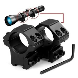 High Quality Air Rifle Scope Mounts 25mm To Fit 9-11mm Rail Med Ht To 45mm Lens