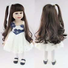"18"" Reborn Toddler Doll Girl Lifelike Princess Long Hair Cute Baby Gifts Vinyl"