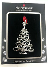 New Year 2020 Harvey Lewis Holiday Christmas Tree Ornament Crystals Swarovski