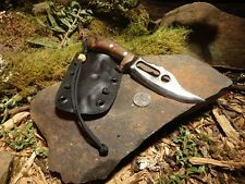 Integrity Implements 4140 Macro Drifter handmade one piece survival knife
