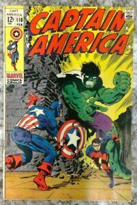 Captain America #110 - F/VF