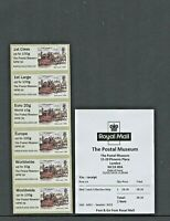 NEW FEB 2019 THE POSTAL MUSEUM MAIL COACH NPM 50 COLLECTOR STRIP B2GB19 Post Go