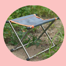 Ultralight GR9 Titanium alloy Folding stool Camping Barbecue Fishing Chair Seat