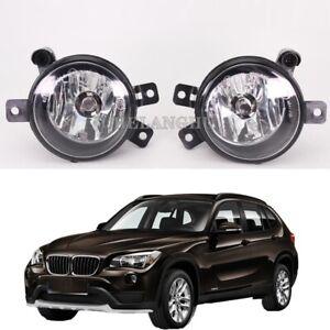 Pair For BMW X1 E84 2009 2010 2011 2012 2013 2014 2015 Front Car Fog Lamp Light