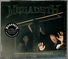 MEGADETH train of consequences CD single 1994 special collectors edition