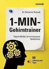 1-MIN-Gehirntrainer von Katharina Turecek (2009, Gebundene Ausgabe)