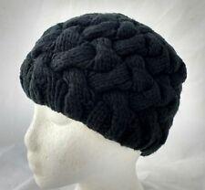 79d39d1cfda MERONA Black Beanie Knit Winter Ski Hat Cap