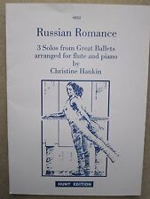 Russian Romance - 3 Ballet Solos for Flute with Piano part *NEW* Publisher Hunt