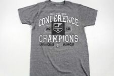 Old Time Los Angeles Kings 2012 Conference Champions T-Shirt Gray NHL Hockey SM