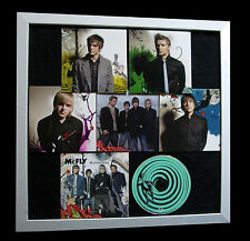 McFLY+Wonderland+LTD+GALLERY QUALITY FRAMED+EXPRESS GLOBAL SHIPPING+Not Signed