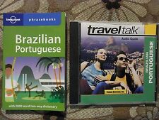 Brazilian Portuguese phrasebook, lonely planet (Audiobook CD and Book, 2003) gb5