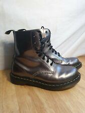 Dr Martens Pascal Boots UK Size 8 Gun Metal Grey