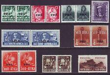 South West Africa 1941 SC 135-143 MH Set War Effort