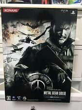 ** PS3 Metal Gear Solid: Peace Walker HD Edition Premium Package - Japan Import