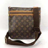 LOUIS VUITTON Shoulder Bag M40044 Pochette Bosphore Monogram canvas unisex