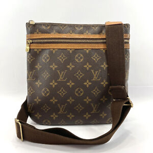 LOUIS VUITTON Shoulder Bag M40044 Pochette Bosphore Monogram canvas unisex