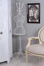 Support de Garde-Robe Mannequin Couture Buste en Fer Patères Style Crochet Neuf
