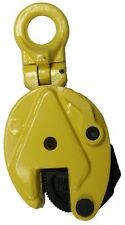 NEW V-Lift .8 Ton Industrial Vertical Plate Lifting Clamp 1,763 Lbs WLL .8T