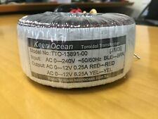 Keen Ocean High Quality Toroidal Transformer 12v