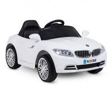 """Auto Macchina elettrica per bambini BMW """"Auto Crazy"""" 6V BIANCO 1 posto"""