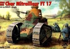RENAULT FT 17 MITRAILLEUR (FRENCH, US, SPANISH, FINNISH & POLISH MKGS)  1/35 RPM