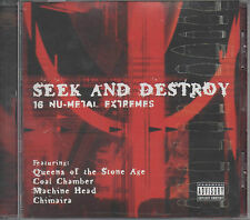 Seek And Destroy 16 Nu-Metal Extremes CD NEU Shelter Machine Head Life of Agony