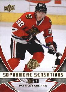 2008-09 (BLACKHAWKS) Upper Deck Sophomore Sensations #SS1 Patrick Kane