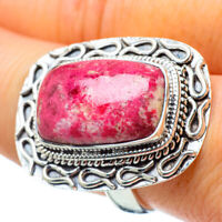 Large Thulite 925 Sterling Silver Ring Size 9 Ana Co Jewelry R33057F