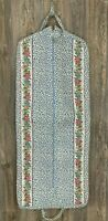 """Vera Bradley Laundry/Garment Bag Travel Floral Print Thick Quilted 53"""" X 22"""""""