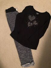 Girls Cherokee Shirt/Joggers Sz M 7/8