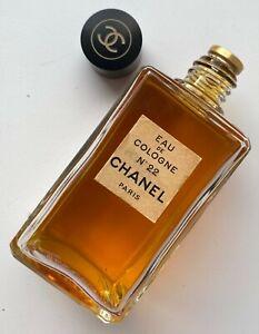 Chanel NO 22 EAU DE COLOGNE 118 ML 4 FL OZ VINTAGE 1960S BOTTLE SEALED