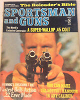 Sportsman And Guns Magazine .45 Colt Fastest .22 Ever May 1966 080517nonrh