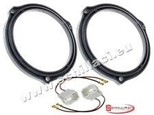 Adattatori altoparlanti Casse 165 mm + connettori  per Ford C-Max portiere poste